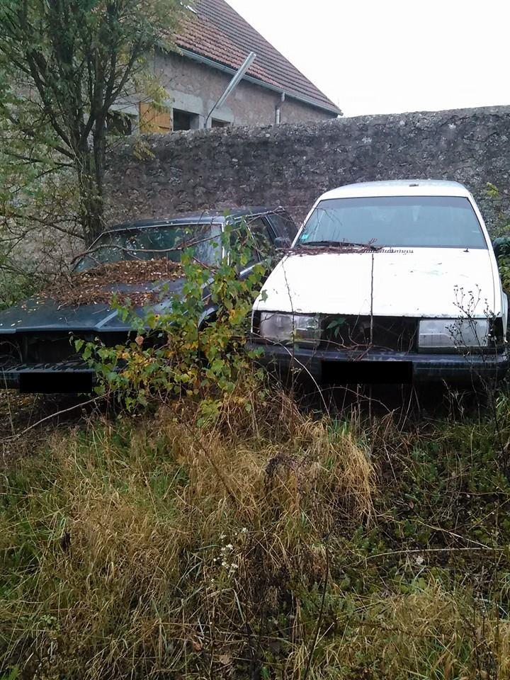 voiture morte