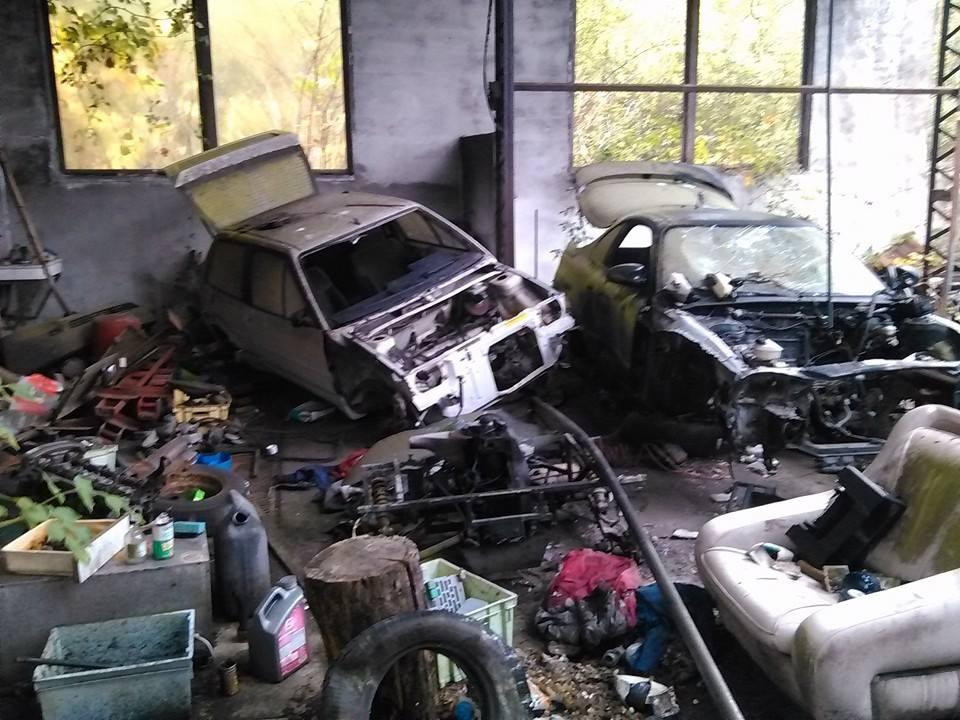 garage brulé