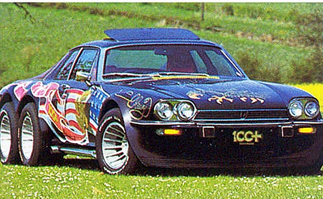 Six Wheel Jaguar Pick Up Interstate Six1