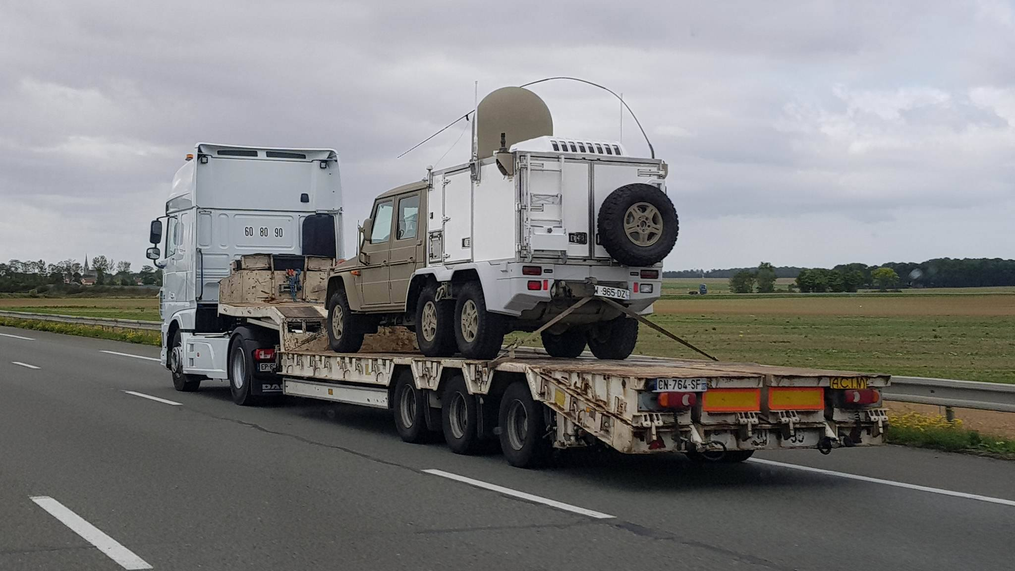 Mercedes G Class 6x6 Military France 2017 Sixmania